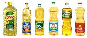 Подсолнечное масло Украина